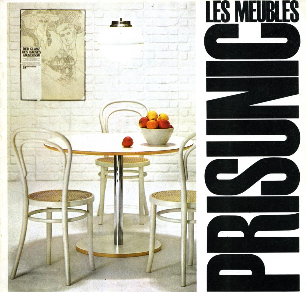 Creation Du Catalogue De Meubles Prisunic La Saga
